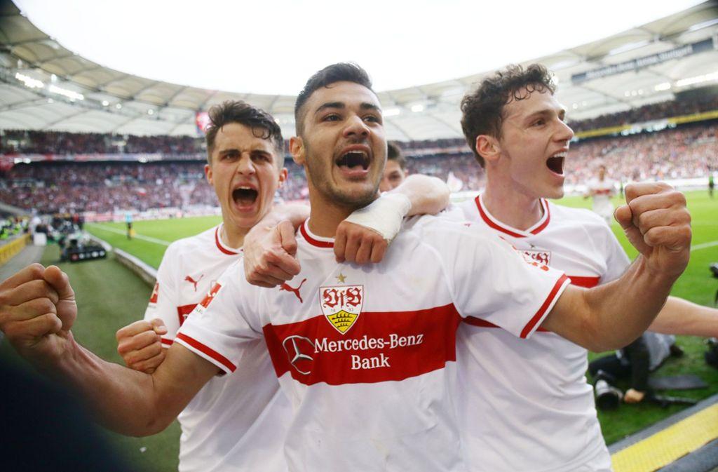 Ozan Kabak hat gegen Hannover seine ersten beiden Tore als Fußballprofi erzielt. Foto: Baumann