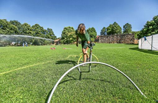 Grünes Wellnessprogramm  für Auserwählte