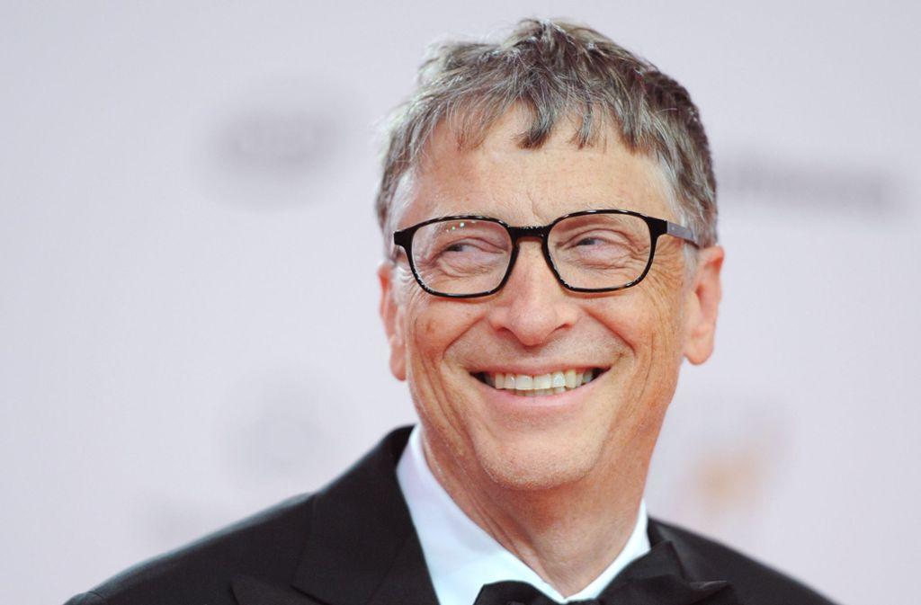 Mit einem geschätzten Vermögen von 110 Milliarden Dollar gilt der 64-Jährige als einer der reichsten Menschen der Welt. Foto: dpa/Britta Pedersen