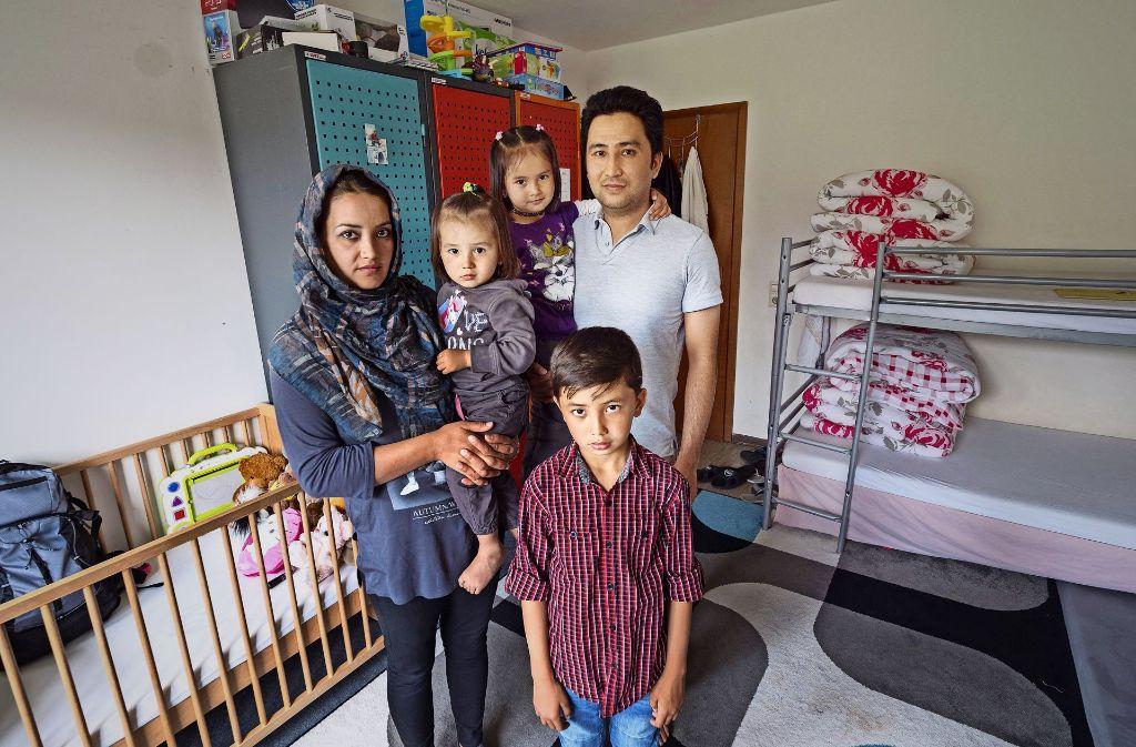 In Malmsheim hat Familie Rezaei  Schutz vor den Taliban gefunden. Jetzt soll sie zurück. Davor hat sie  große Angst. Foto: factum/Weise