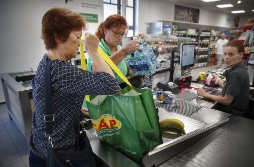 Ortsbelebender Lebensmittelmarkt