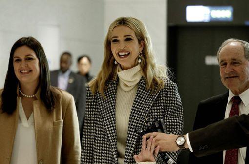 Ivanka Trump zum Abschluss der Spiele in Pyeongchang