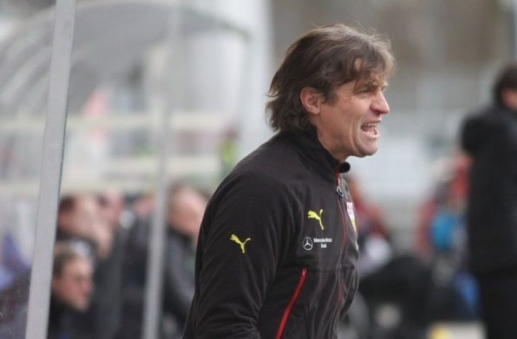 Walter Thomae will mit dem VfB II endlich wieder einen Dreier einfahren - am besten an diesem Samstag bei Kickers Würzburg. Foto: Lommel/VfB-exklusiv