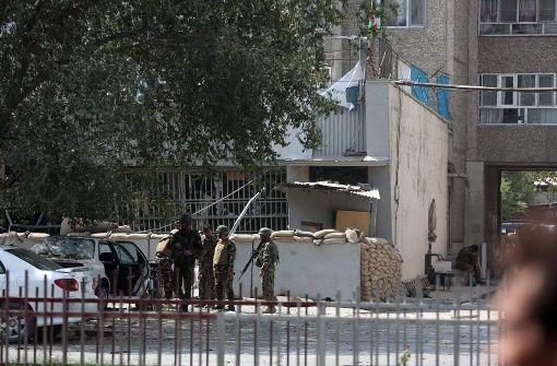Fünf Tote bei Selbstmordanschlag in Kabul