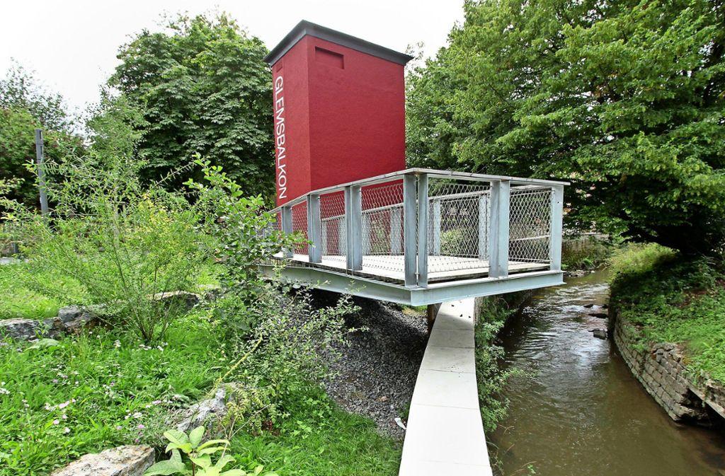 Die Glems dient der Naherholung. Die Stadtentwicklung entlang des Flusses lassen sich die Räte einiges kosten. Foto: /factum/ Jürgen Bach