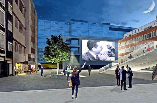 Wird ein Open-Air-Kino den Gedenkort beleben?