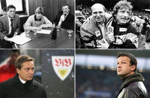 Von Schäfer bis Bobic - die Manager des VfB