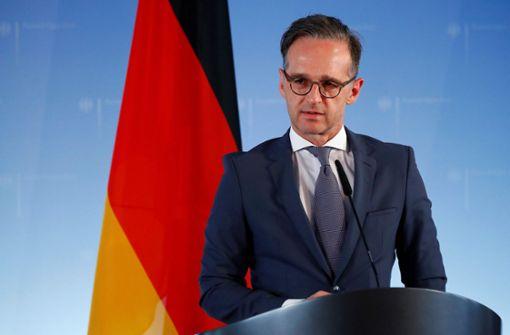 Außenminister Maas: Proteste in den USA legitim