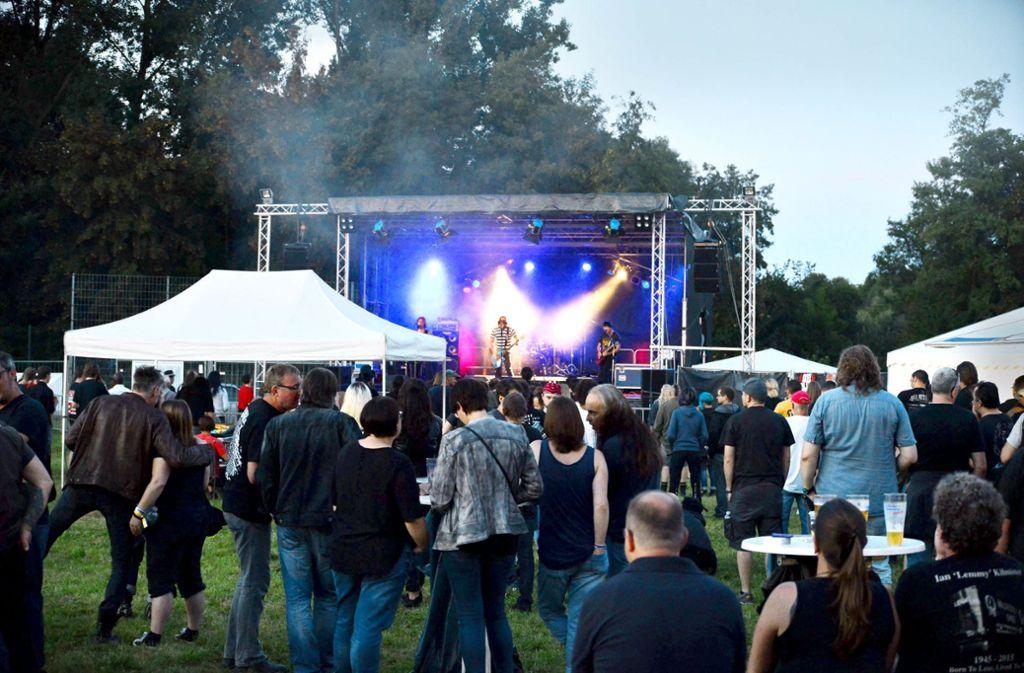 Einmal im Jahr steigt in Leutenbach das Dalmstock Open Air. Foto: 7aktuell/