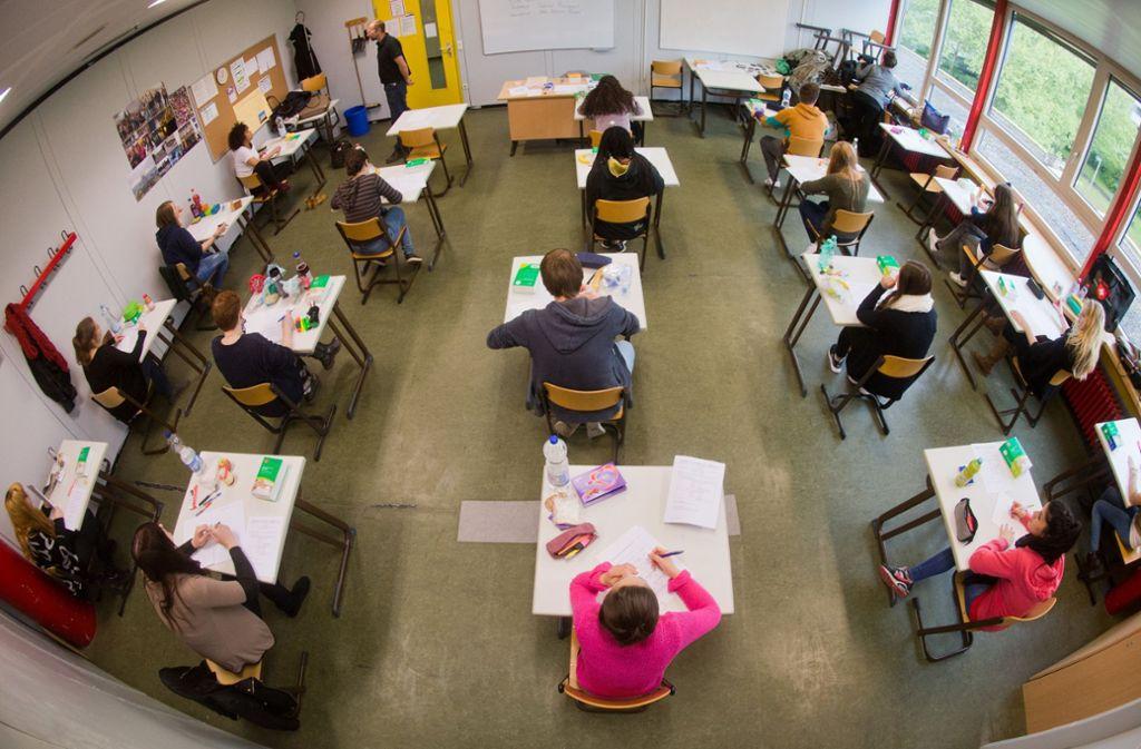 Bei der Abiturprüfung gibt es erhebliche Unterschiede zwischen den Bundesländern. Foto: dpa