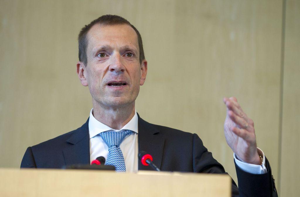 Alexander Kotz bleibt Fraktionschef der CDU im Stuttgarter Rathaus. Foto: Lichtgut/Leif Piechowski