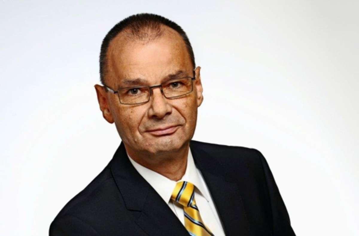 Bislang einziger Bewerber ist der FDP-Kreischef Hans Dieter Scheerer aus Weil der Stadt. Foto: privat