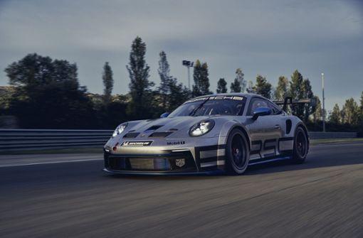 Porsche präsentiert das neue GT3-Cup-Auto