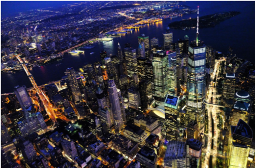 Die Städte werden immer größer.