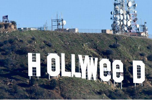 """""""Hollywood""""-Schild kurzerhand umbenannt"""
