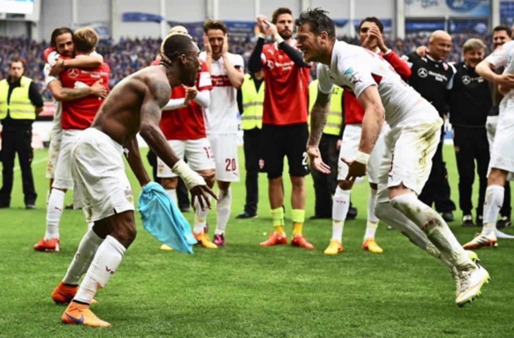 Der VfB Stuttgart will auch in der 1. Runde des DFB-Pokals jubeln. Foto: Bongarts