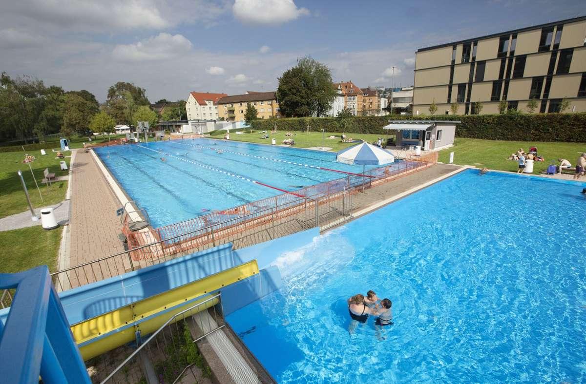 Das Neckarfreibad hat vorraussichtlich bis Anfang Oktober geöffnet. Foto: Ines Rudel