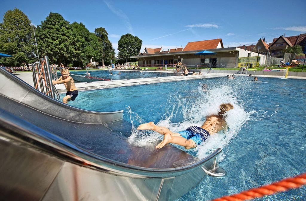 Das Weilheimer Freibad bietet fast alles, was das Schwimmerherz erfreut. Foto: Horst Rudel