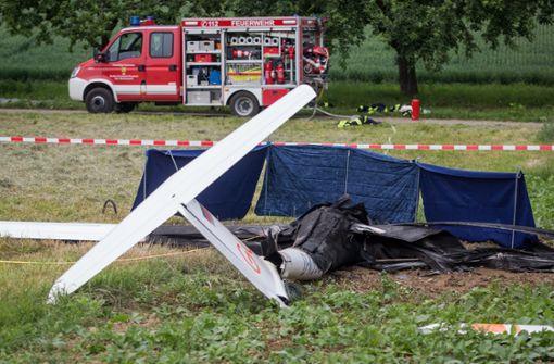 Pilot stirbt bei Absturz eines Kleinflugzeugs