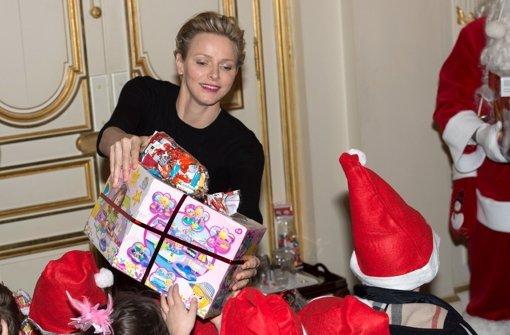 Charlène hat ein Herz für Kinder