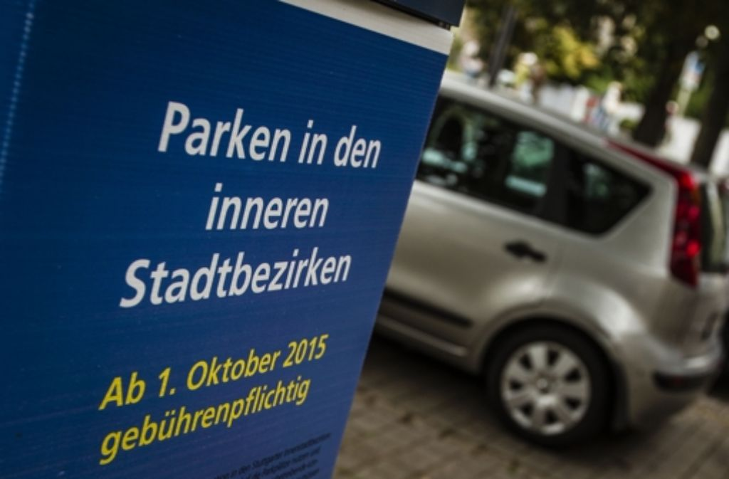 Bisher gilt das Parkraummanagement für die inneren Stadtbezirke sowie für Bad Cannstatt. Die Degerlocher wollen nun auch. Foto: Lichtgut/Leif Piechowski
