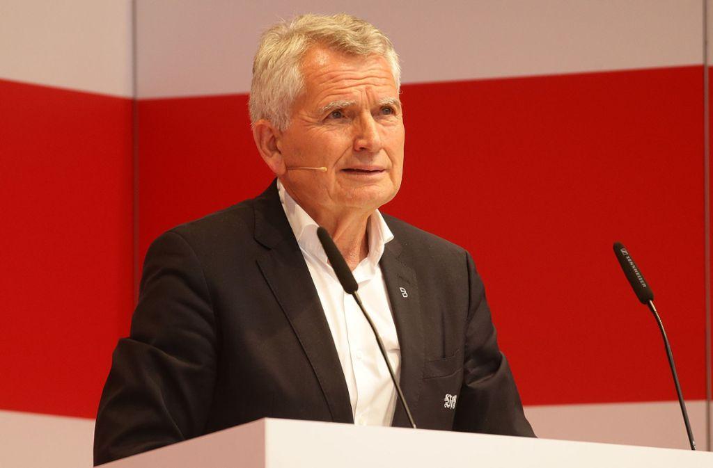Wünscht dem Nachfolger aus der Ferne alles gute: Wolfgang Dietrich. Foto: Baumann