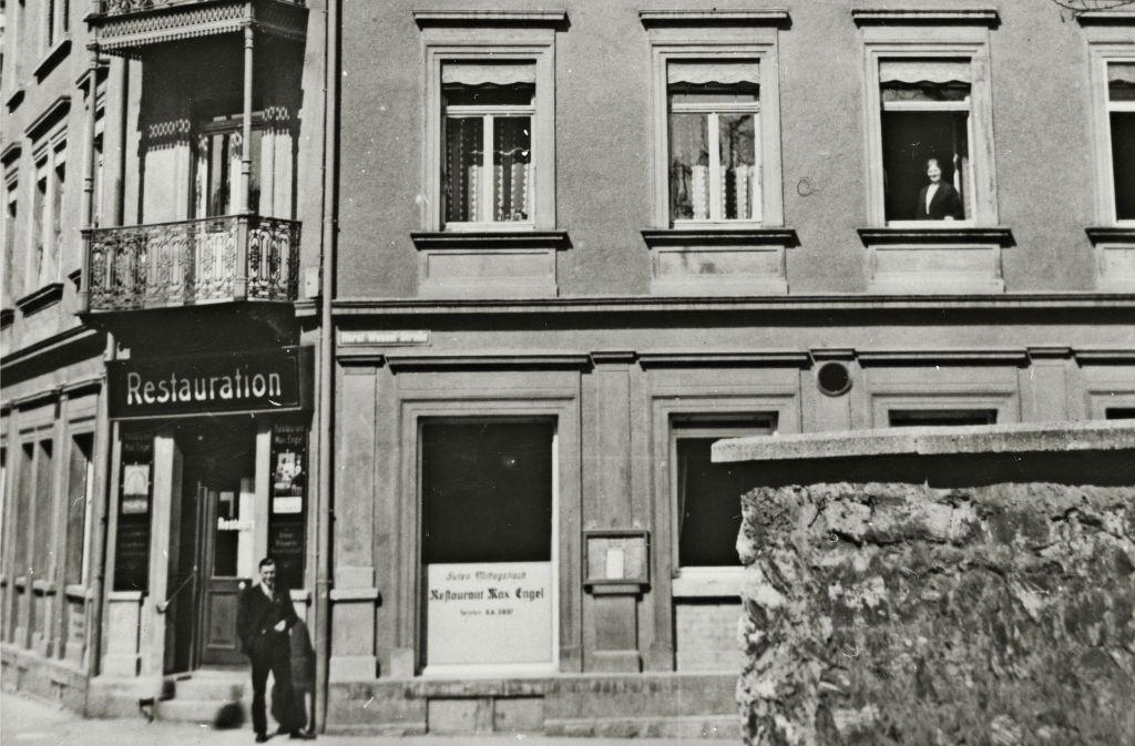 In diesem Haus am Ulmer Bahnhof ist Albert Einstein am 14. März 1879 zur Welt gekommen. 1944 wurde es bei einem Luftangriff zerstört. Foto: Stadtarchiv Ulm