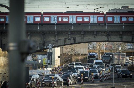 Geänderte Verkehrsführung
