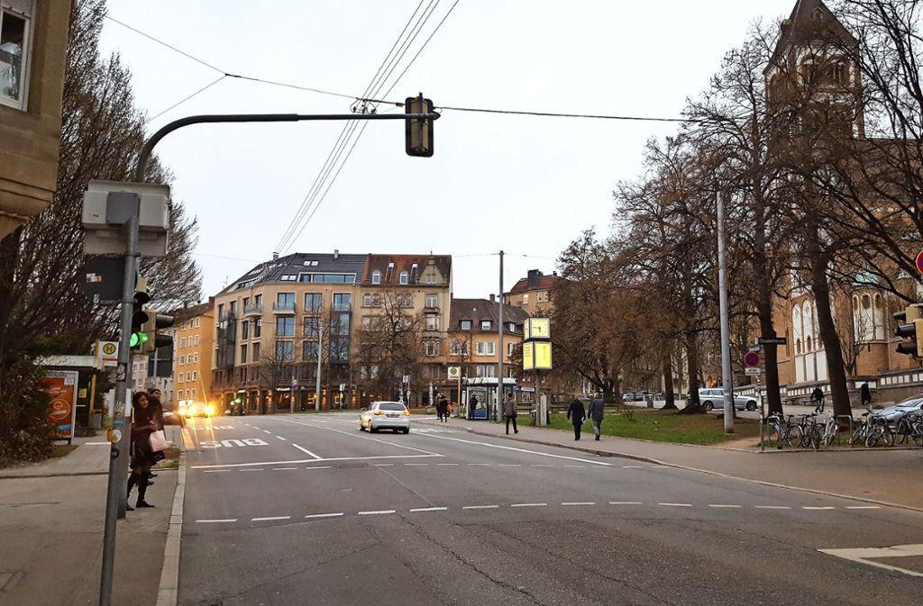 Die beiden Busspuren an der Schwabstraße sollen künftig  entfallen. Foto: