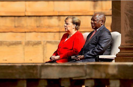 Warum Merkel Südafrikas Präsidenten als Verbündeten sieht