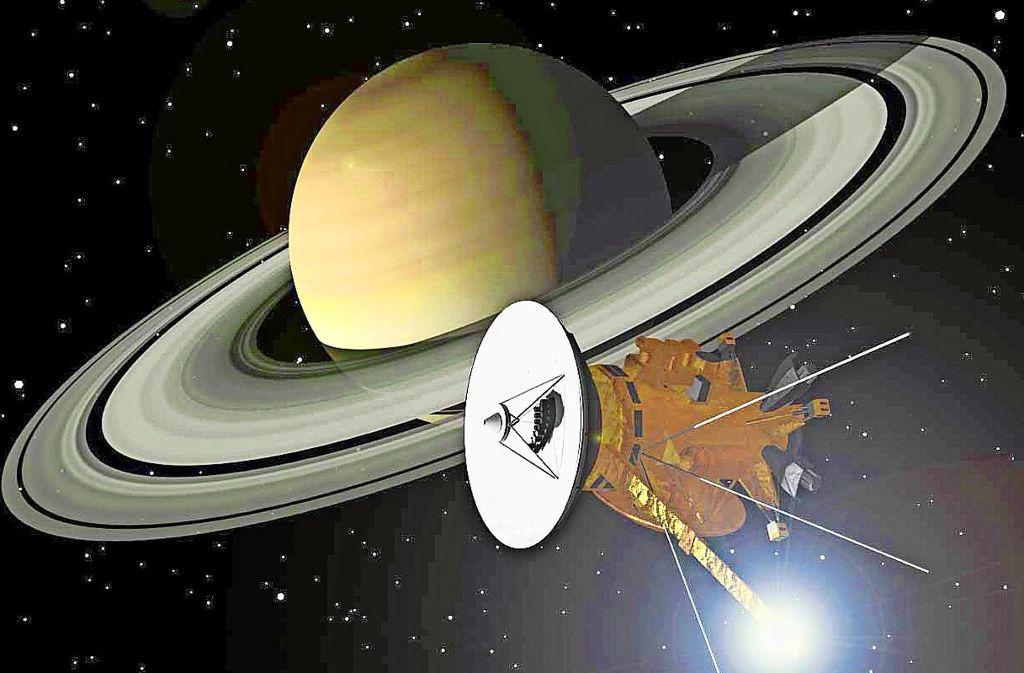 Cassini hat dem Ringplaneten Saturn viele Geheimnisse abgetrotzt. Foto: DLR