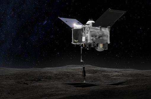 US-Raumsonde soll  auf Asteroid Bennu landen