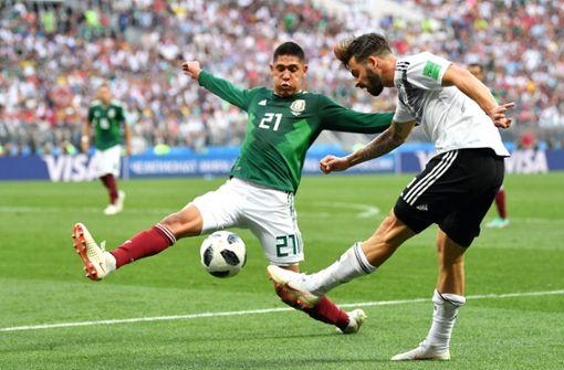 Die Freude des WM-Debütanten ist gedämpft