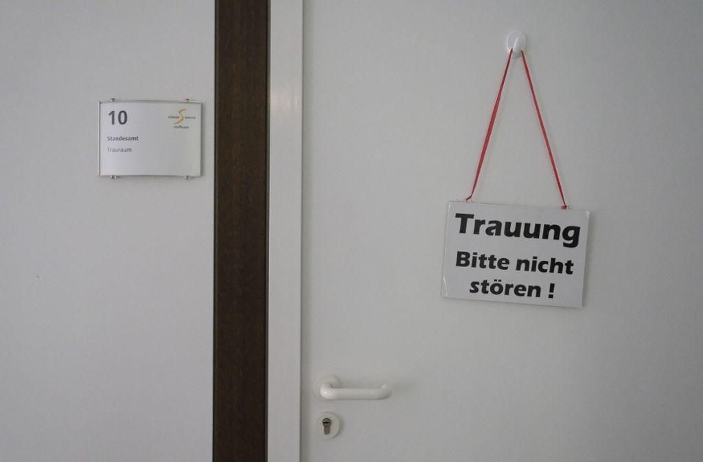 Neun Trauungen sind am  20.2.2020 in Stuttgart geplant. Foto: Lichtgut/Leif Piechowski