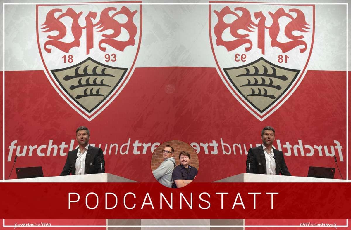 Wie geht es beim VfB Stuttgart weiter? Das Thema in der aktuellen Podcast-Folge. Foto: StZN/Baumann