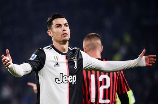 Nach positivem Corona-Test: Duell der Superstars ohne Ronaldo?
