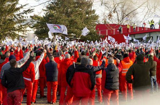 Streik in Györ beendet