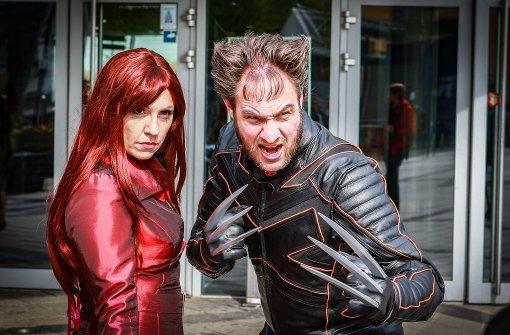 Marvel-Superhelden in Stuttgart