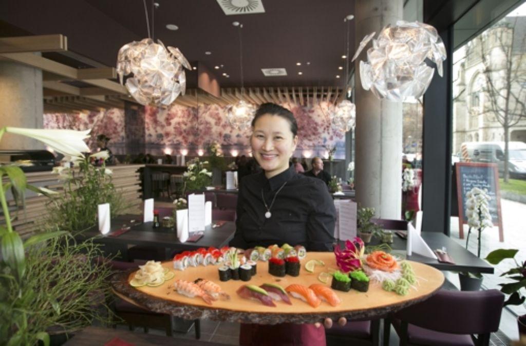 Die Eltern der Chefin Nhung Trinh sind ebenfalls Gastronomen. Foto: Horst Rudel