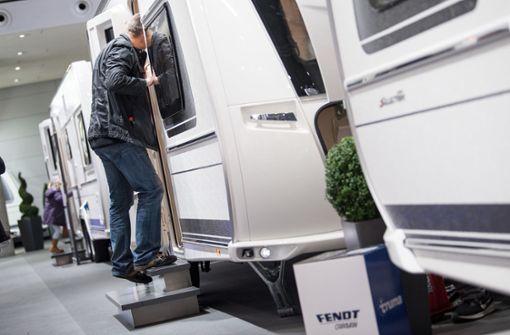 Einbrecher erbeuten einen Wohnwagen