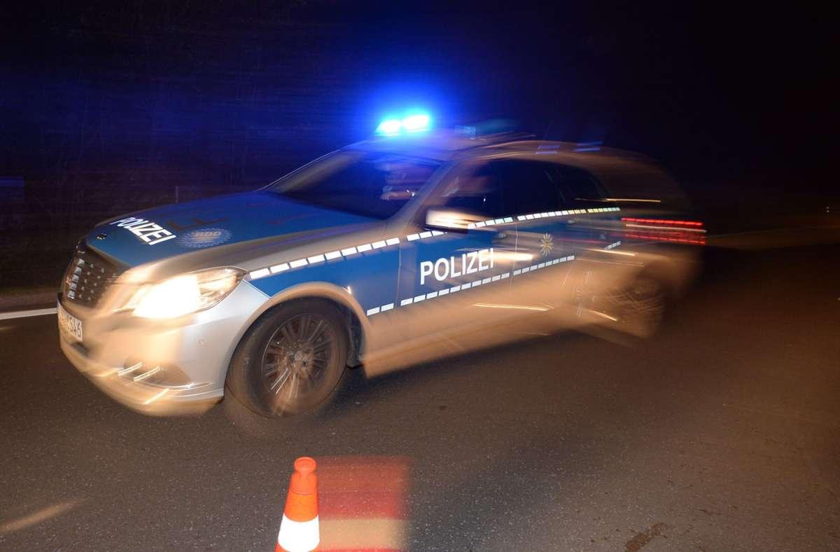 Die Polizei stoppte den flüchtigen Autofahrer bei Deizisau und nahm ihn fest (Symbolbild). Foto: dpa/Patrick Seeger