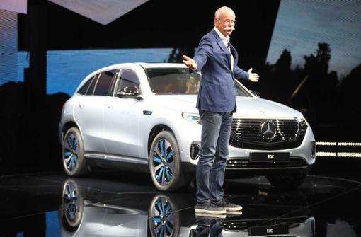 Daimler jagt mit neuen E-Autos Tesla