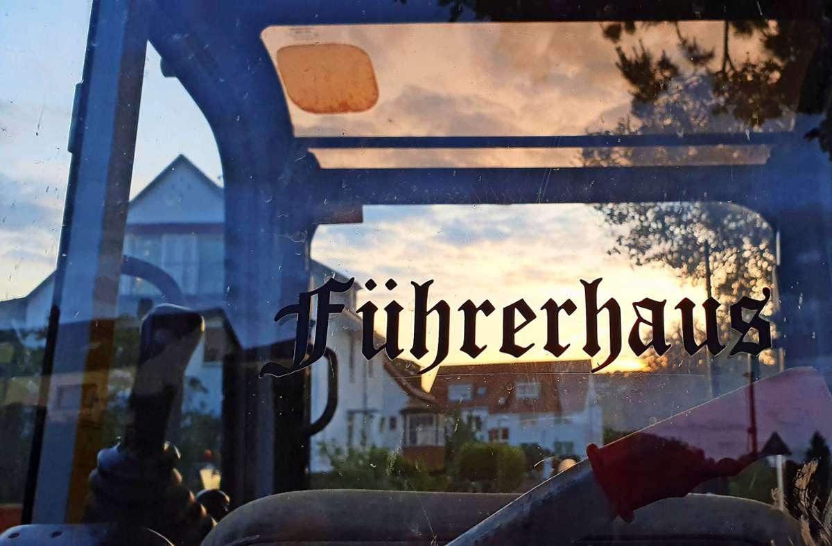Einschlägige Wörter in Frakturschrift bringen  viele Menschen in Verbindung mit dem Nationalsozialismus. Foto: privat