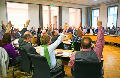 Soll über den Geschäftsordnungsantrag geheim oder namentlich abgestimmt werden? Für den Göppinger Gemeinderat ist das ein Grund für eine Kampfabstimmung. Foto: Horst Rudel