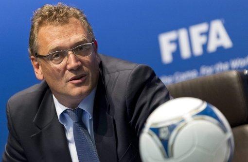 FIFA-Generalsekretär Valcke nimmt WM in Schutz