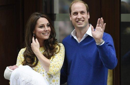 Erster Auftritt mit Kate, William und George