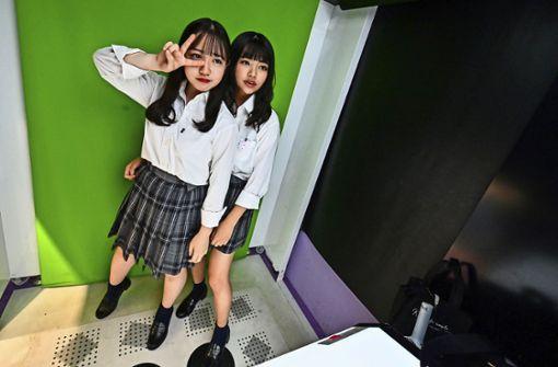 Japans Schüler: kontrolliert bis auf die Unterwäsche