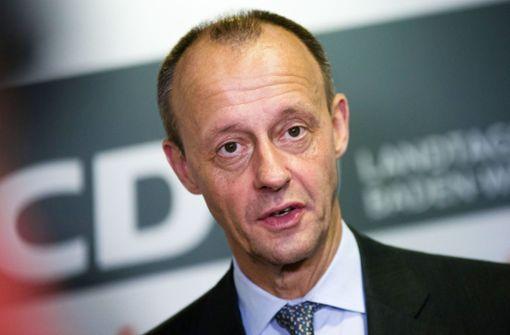 Ex-Unionsfraktionschef Friedrich Merz ist infiziert