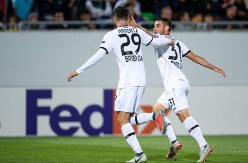 Bayer Leverkusen siegt in Rasgrad