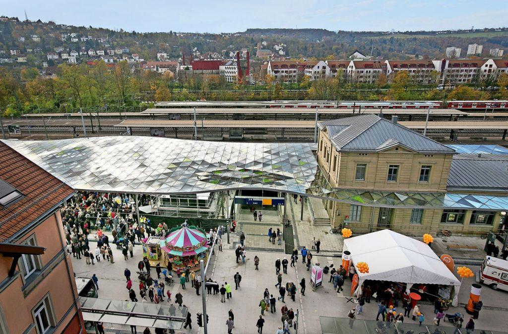 Die Eröffnung des neuen Zentralen Omnibusbahnhofs hat den Nahverkehr gestärkt. Die Neuvergabe des Liniennetzes droht die Erfolge zunichtezumachen. Foto: Horst Rudel/Archiv